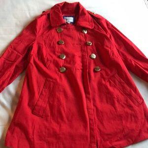 Red Trenchcoat Jacket